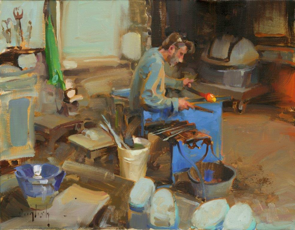 """""""Working with Glass"""" by Kim English"""